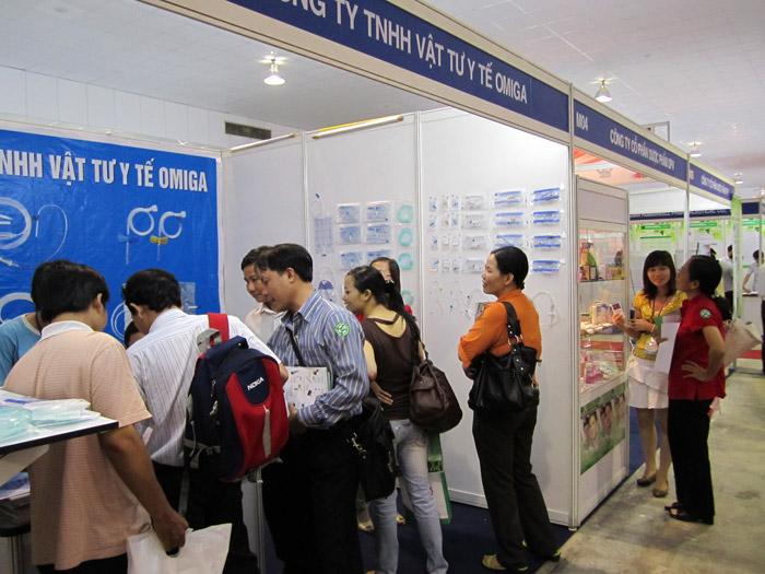 Triển lãm Y tế Quốc tế Việt Nam lần 6 - ngày 21/09/2011