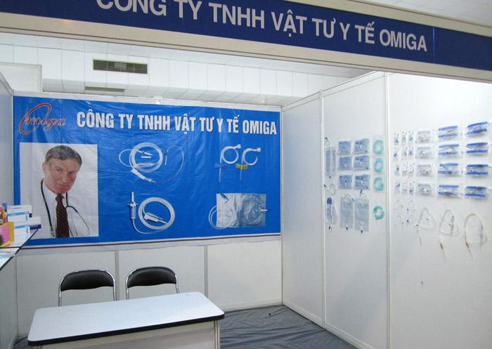 Triển lãm Y tế Quốc tế Việt Nam lần thứ 6-2011 tại Thành phố