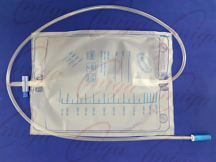 Túi đựng nước tiểu van T